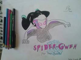 Spider-Gwen! by PandaKillerGao