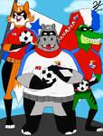 Panama Super Heroes! by PandaKillerGao