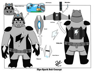 Hipo Sparks Concept Design by PandaKillerGao