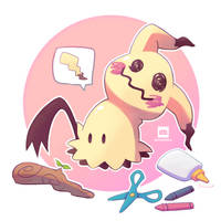 Mimikyu by FrootsyCollins