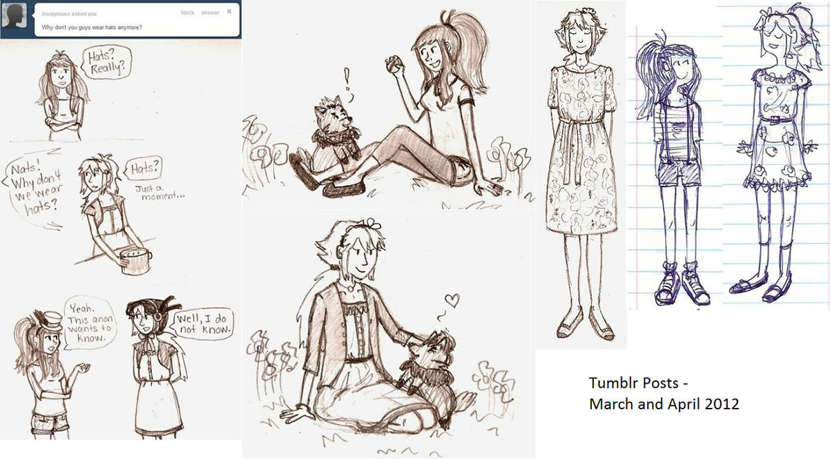 Hilda And Natalie Tumblr Posts 5 By Cheekyjoy23 On Deviantart