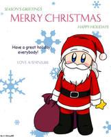 Greetings from Santa and I by K-Shinju88