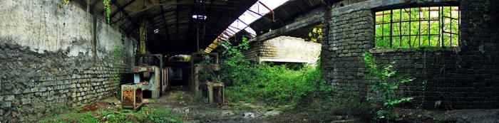 Abandoned Ceramic Factory by b2spiritcat