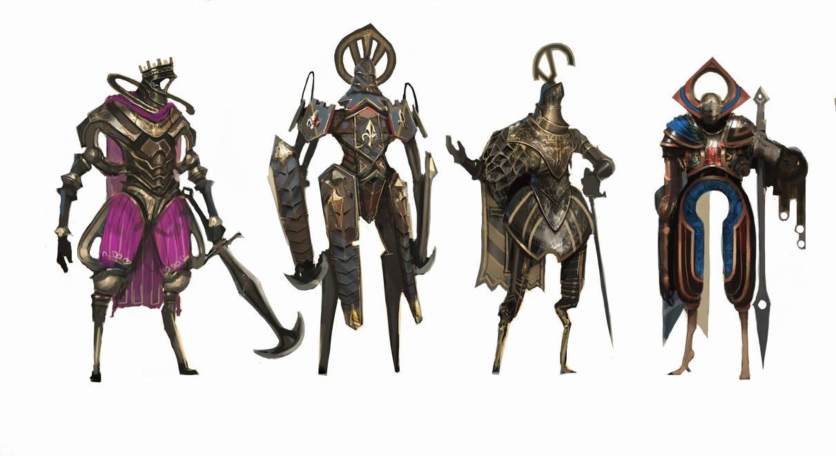 weird knights #1 by Asahisuperdry