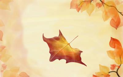 Autumn wallpaper by IamNoHere