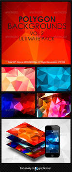 PolygonBG Vol-2 Ultimate Pack by rixlauren