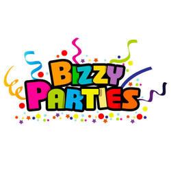 Bizzy Parties Logo by rixlauren