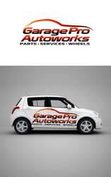 Garage Pro Autoworks Logo 2 by rixlauren