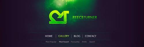 Portfolio Header by reece3