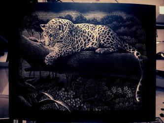 Leopard Scrapper foil by chery-blosom