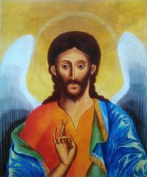 st. John Baptist icon by chery-blosom