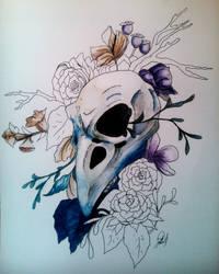 Beautiful death by chery-blosom