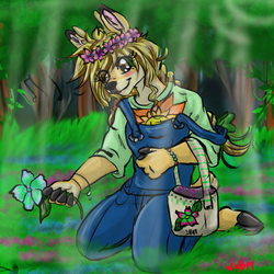 [Comm] Merry in the forest by Ittermat