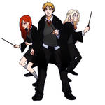 HP - The other trio by gabzillaz