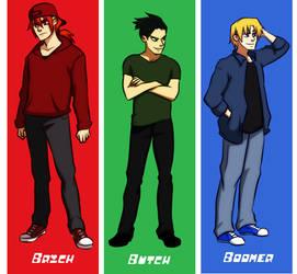 Rowdyruff Boys by gabzillaz