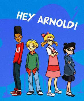 Hey Arnold by gabzillaz