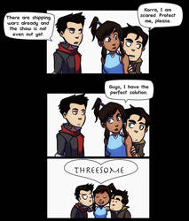 Korra knows best by gabzillaz