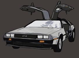 DeLorean by vervex