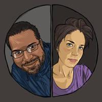Dual portraits by vervex