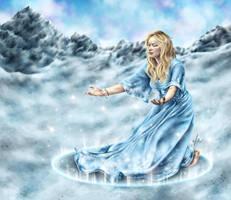 Snow Dance - Happy Winter Solstice by vervex