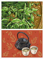 Art for Foodies: Tea time by vervex