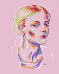 Rainbow Girl XXXI by vervex
