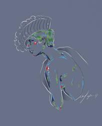 Rainbow Girl XXXIII by vervex