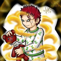 - Young Gaara - by vervex