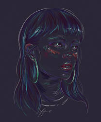 Rainbow Girl XLV by vervex