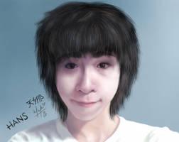 - Portrait of China - by vervex