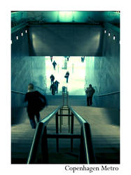 The Copenhagen Metro by bossydk