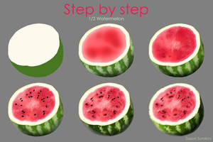 Step by step - Watermelon by SaxonSurokov