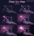 Step by step - Lightning by SaxonSurokov