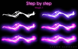 Step by step - Magic .1 by SaxonSurokov