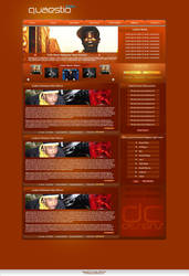 Brown Sugar Web Design by D-C-Designs