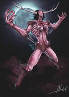 Wendigo the Cannibal by hellsama