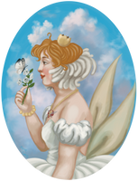 Princess Tutu bust by misellapuella