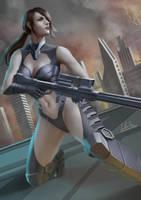 Quiet Fanart (Sci-fi Themed) by SM-A