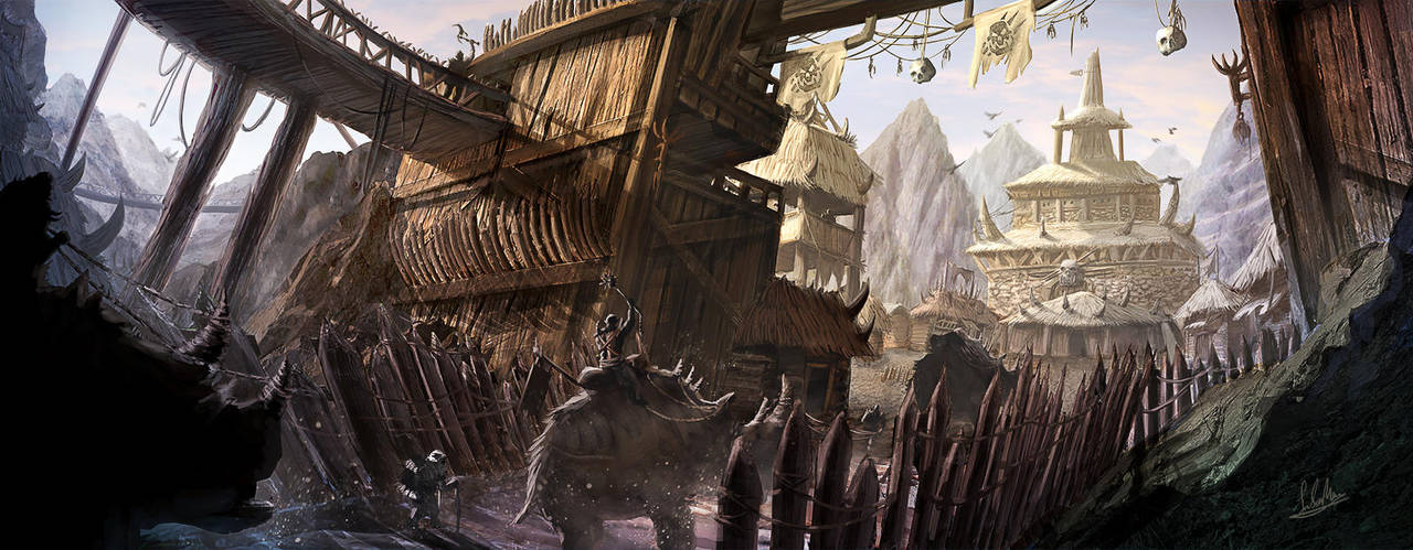 Orc Base Entrance by SM-A