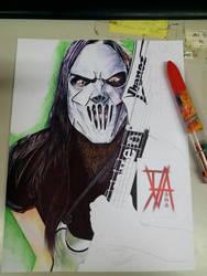 Seven of Slipknot by jonathanva1983