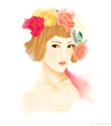 Hyoyeon- Bloom II by Quill1788