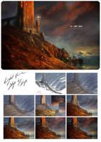 THE LIGHT HOUSE (WiP) by Deharme