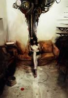 The Black Queen by Deharme