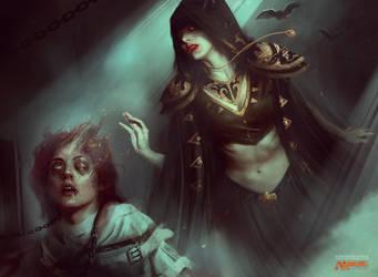ASYLUM VISITOR / Magic: the Gathering by Deharme