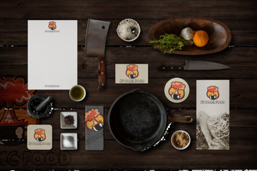 Atomic food restaurant template by Atimoon