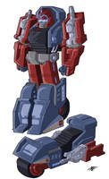 G1 Override: Cybertronian Mode Colours by Natephoenix