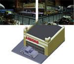 Pixel Art - Raccoon City Liquor store by Natephoenix