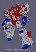 Toy Design: Decepticon Tetrajet (Starscream) by Natephoenix