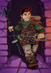 Commission: DnD Halfling Assassin by Natephoenix