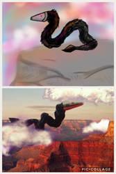 Sky snake by steel-the-black-bird